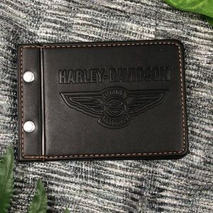 Harley Davidson Leather Cover The Roadbook